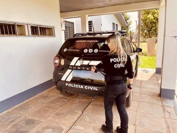 Policia Civil de Tupanciretã prende homem no Bairro Ana Terra